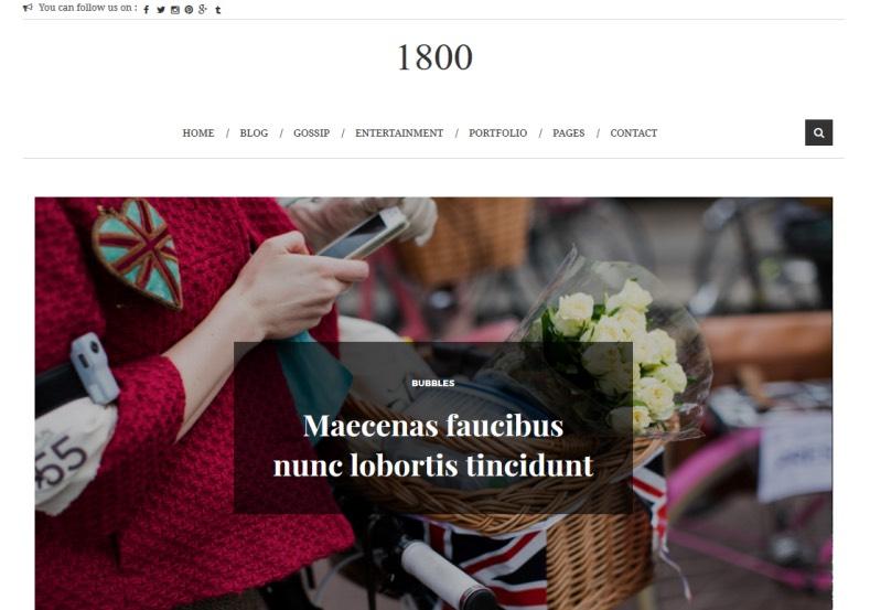 1800 Fashion Blogger Template. 1800 Fashion Blogger Template 2015 free blogger templates