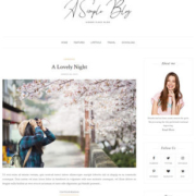 A Simple Blog Blogger Templates