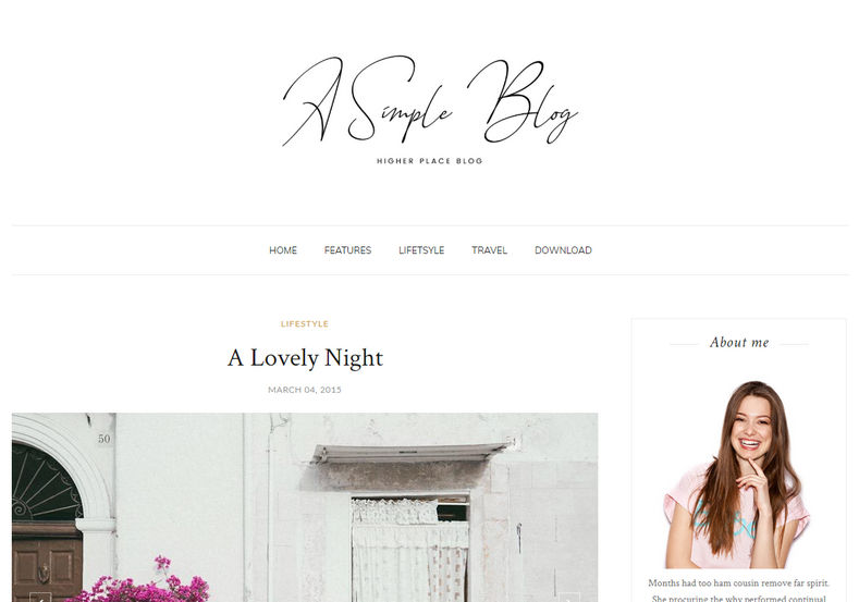 A Simple Blog Blogger Template is a ultra modern responsive clean looking and simple fast loading blogspot blogger theme, with elegant design and minimal look