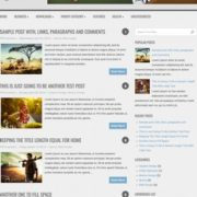 AccentBox Responsive Blogger Templates