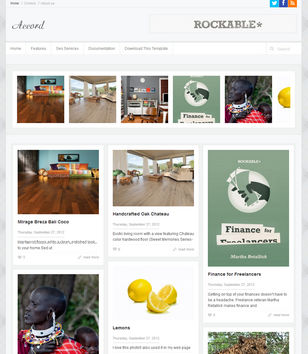Accord Blogger Templates