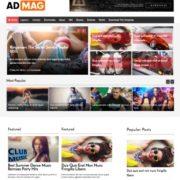 Ad Mag Blogger Templates