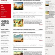 Adaption Responsive Blogger Templates