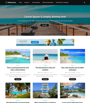 Adventur Blogger Templates
