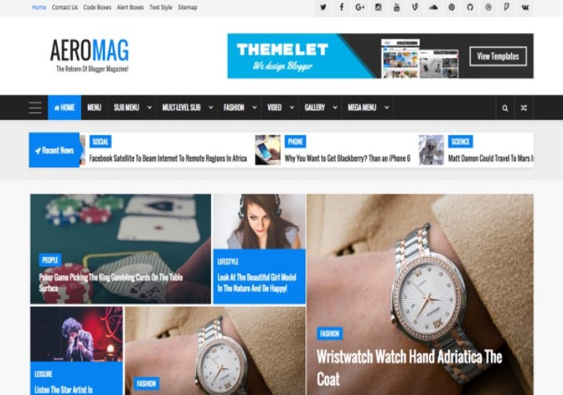 Aeromag blogger template blogspot templates 2018 aeromag blogger template free blogger templates 2017 buy premium blogger themes for blogger blog from maxwellsz