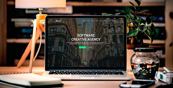 Agency - Creative Landing Page