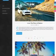 Aires Responsive Blogger Templates