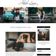 Alice Personal Blogger Templates