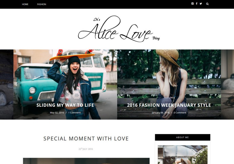 Alice Personal Blogger Template. Free blogger templates give new look for your blogger blog. Download best free blogger template from gooyaabi. Alice Personal Blogger Template.