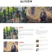 Alison Blogger Templates