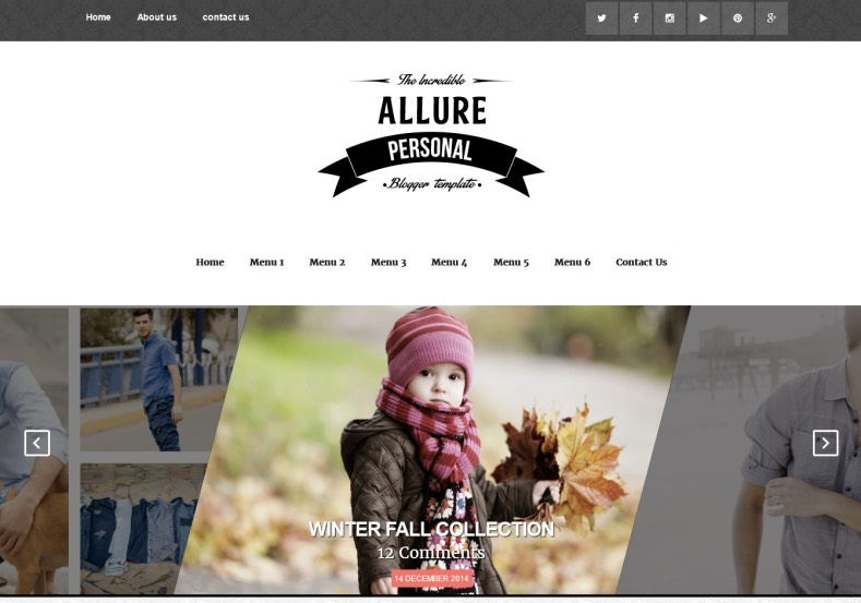 Responsive Allure Blogger Template. Blogger Themes. Best suitable for news blog templates. Ads ready blogspot templates help for add adsense ad code and easily showing adsence ads in your blog. Adapted from WordPress templates are converted from WordPress themes. It is help for take your rich. Blogger magazine template specially designed for magazine blogs. The writers can utilize this themes for take blog attractive to users. Elegant themes are more used themes in most of the blogs. Minimalist blog templates. Free premium blogger themes means, themes authors release two types of themes. One is premium another one is free. Premium templates given for cost but free themes given for no cost. You no need pay From California, USA. $10 USD, or $20 USD and more. But premium buyers get more facilities from authors But free buyers. If you run game or other animation oriented blogs, and you can try with Anime blog templates. Today the world is fashion world. So girls involve to the criteria for make their life fashionable. So we provide fashion blogger themes for make your fashionable. News is most important concept of the world. Download news blogger templates for publishing online news. You can make your blog as online shopping store. Get Online shopping store blogger template to sell your product. Navigation is most important to users find correct place. Download drop down menu, page navigation menu, breadcrumb navigation menu and vertical dropdown menu blogspot themes for free. Google Guide. Blogging tips and Tricks for bloggers. Google bloggers can get blogspot trick and tips for bloggers. Blog templates portfolio professional blogspot themes, You can store your life moments with your blogs with personal pages templates. Video and movie blogs owners get amazing movie blog themes for their blogs. Business templates download. We publish blogger themes for photographers. Photographers easily share photos via photography blog themes. St valentine Christmas Halloween templat