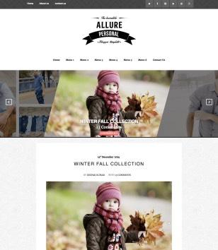 Allure Blogger Templates