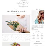 Amalie Blogger Templates