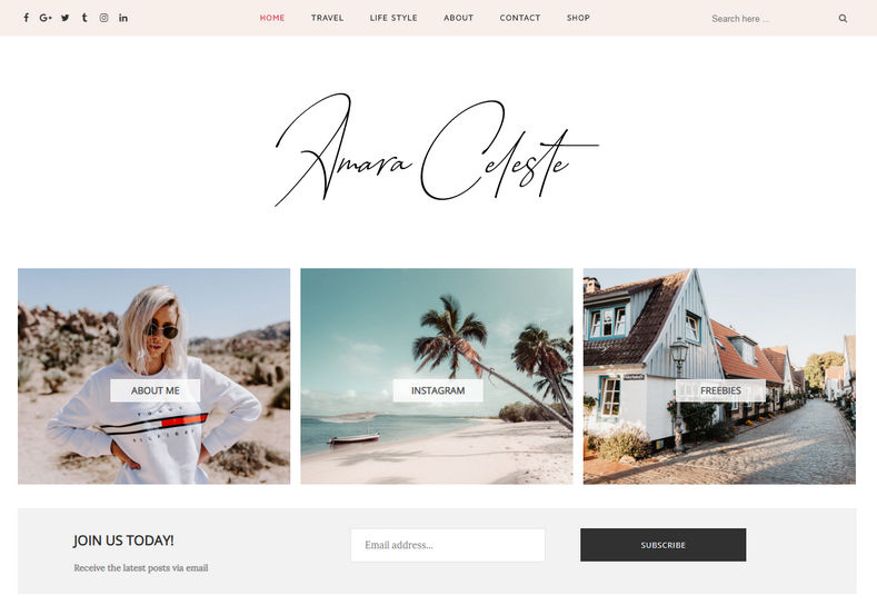 Amara Blogger Template is a clean responsive and modern fast easy to use free blogspot template which is having clean and very minimal design layout