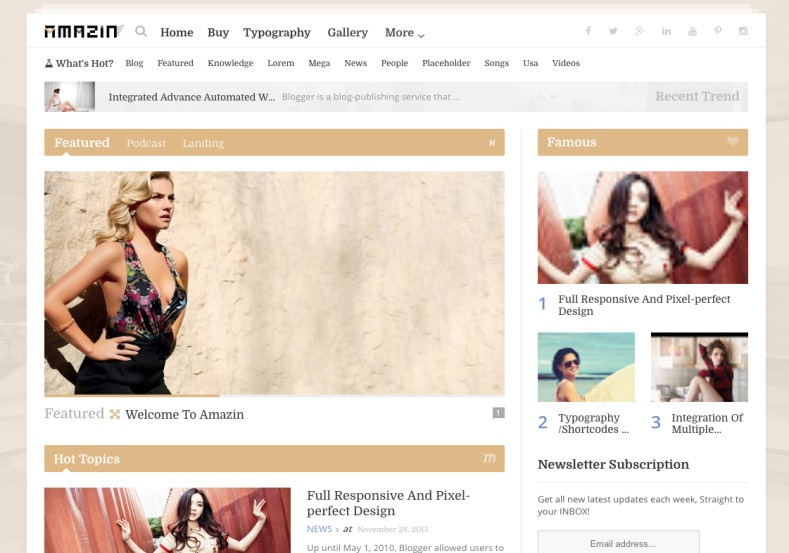 Amazin Blogger Template simple magazine blogspot themes to buy for blogger Amazin Blogger Template