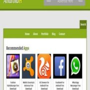 Androider Blogger Templates