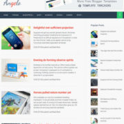 Angelo Responsive Blogger Templates