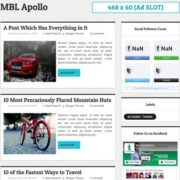 Apollo Blogger Templates