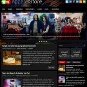 ApparelStore Blogger Templates