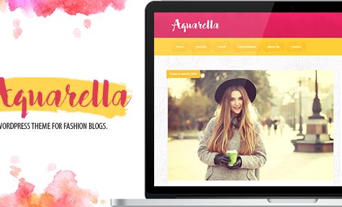 Aquarella - Lifestyle Theme for Digital Influencers, Bloggers & Travelers