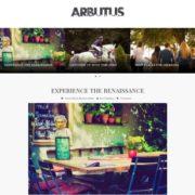 Arbutus Blogger Templates