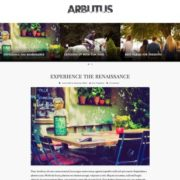 Arbutus Blogger Templates