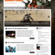 Assassin's Creed 3 Blogger Templates