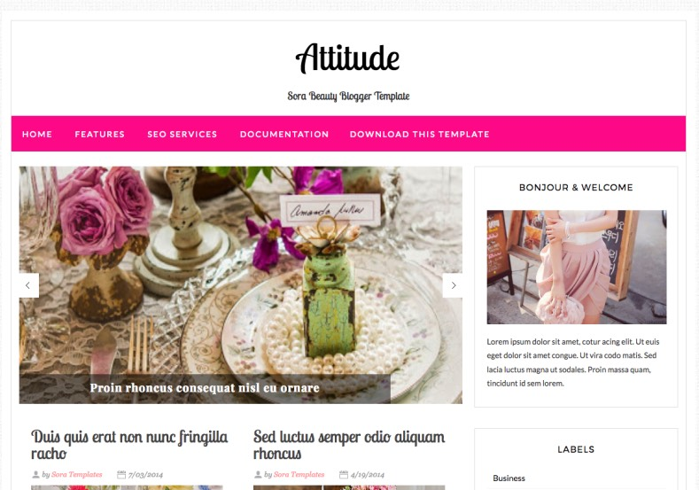 Attitude Magazine Blogger Template. Blogger Themes. Best suitable for news blog templates. Ads ready blogspot templates help for add adsense ad code and easily showing adsence ads in your blog. Adapted from WordPress templates are converted from WordPress themes. It is help for take your rich. Blogger magazine template specially designed for magazine blogs. The writers can utilize this themes for take blog attractive to users. Elegant themes are more used themes in most of the blogs. Minimalist blog templates. Free premium blogger themes means, themes authors release two types of themes. One is premium another one is free. Premium templates given for cost but free themes given for no cost. You no need pay From California, USA. $10 USD, or $20 USD and more. But premium buyers get more facilities from authors But free buyers. If you run game or other animation oriented blogs, and you can try with Anime blog templates. Today the world is fashion world. So girls involve to the criteria for make their life fashionable. So we provide fashion blogger themes for make your fashionable. News is most important concept of the world. Download news blogger templates for publishing online news. You can make your blog as online shopping store. Get Online shopping store blogger template to sell your product. Navigation is most important to users find correct place. Download drop down menu, page navigation menu, breadcrumb navigation menu and vertical dropdown menu blogspot themes for free. Google Guide. Blogging tips and Tricks for bloggers. Google bloggers can get blogspot trick and tips for bloggers. Blog templates portfolio professional blogspot themes, You can store your life moments with your blogs with personal pages templates. Video and movie blogs owners get amazing movie blog themes for their blogs. Business templates download. We publish blogger themes for photographers. Photographers easily share photos via photography blog themes. St valentine Christmas Halloween templates. Download Slideshow slider templates for free. Under construction coming soon custom blogspot template. Best beautiful high quality Custom layouts Blog templates from templateism, SoraTemplates, templatetrackers, simple, cute free premium professional unique designs blog themes blogspot themes. Seo ready portfolio anime fashion movie movies health custom layouts best download blogspot themes simple cute free premium professional unique designs xml html code html5.