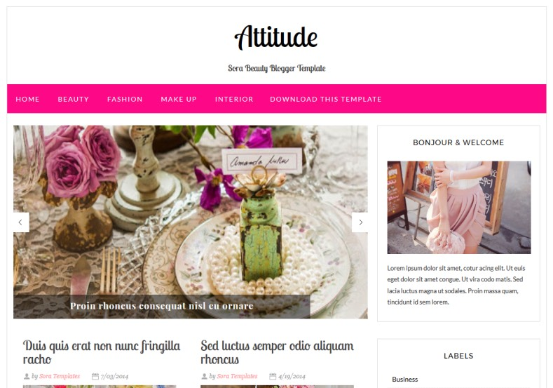 Attitude Magazine Blogger Template. Blogger Themes. Best suitable for news blog templates. Ads ready blogspot templates help for add adsense ad code and easily showing adsence ads in your blog. Adapted from WordPress templates are converted from WordPress themes. It is help for take your rich. Blogger magazine template specially designed for magazine blogs. The writers can utilize this themes for take blog attractive to users. Elegant themes are more used themes in most of the blogs. Minimalist blog templates. Free premium blogger themes means, themes authors release two types of themes. One is premium another one is free. Premium templates given for cost but free themes given for no cost. You no need pay From California, USA. $10 USD, or $20 USD and more. But premium buyers get more facilities from authors But free buyers. If you run game or other animation oriented blogs, and you can try with Anime blog templates. Today the world is fashion world. So girls involve to the criteria for make their life fashionable. So we provide fashion blogger themes for make your fashionable. News is most important concept of the world. Download news blogger templates for publishing online news. You can make your blog as online shopping store. Get Online shopping store blogger template to sell your product. Navigation is most important to users find correct place. Download drop down menu, page navigation menu, breadcrumb navigation menu and vertical dropdown menu blogspot themes for free. Google Guide. Blogging tips and Tricks for bloggers. Google bloggers can get blogspot trick and tips for bloggers. Blog templates portfolio professional blogspot themes, You can store your life moments with your blogs with personal pages templates. Video and movie blogs owners get amazing movie blog themes for their blogs. Business templates download. We publish blogger themes for photographers. Photographers easily share photos via photography blog themes. St valentine Christmas Halloween templat