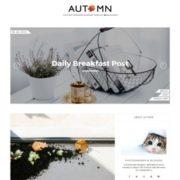 Autumn Blogger Templates