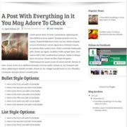 Avada Blogger Templates
