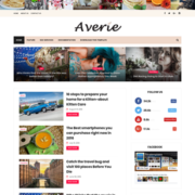 Averie Minimal Blogger Templates