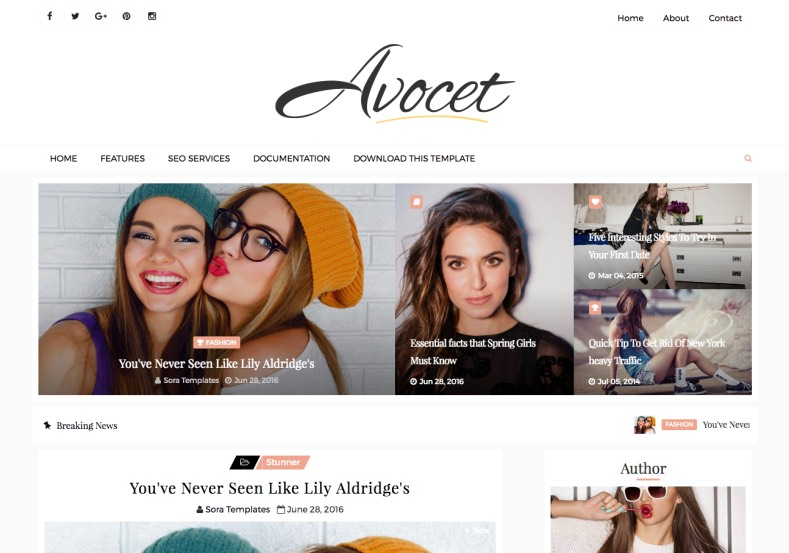 Avocet Blogger Template. Blogspot themes for building best quality blogger blog. Sweaty blog and blogspot template can help increase your blog visibility on internet. Avocet Blogger Template.
