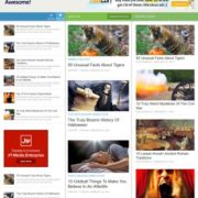 Awesome Mag Responsive Blogger Templates