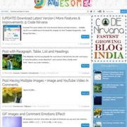 Awesome Responsive Blogger Templates