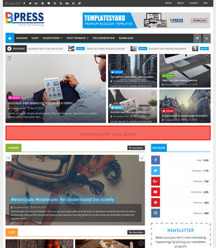 Blogger templates 2018 top best free new templates bpress magazine pronofoot35fo Gallery
