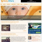 BabyStore Blogger Templates