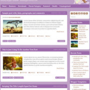 Babylog Blogger Templates