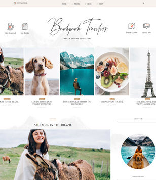 BackPack Blogger Templates