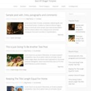 Base WP Blogger Templates