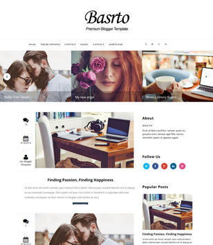 Bastro Blogger Templates