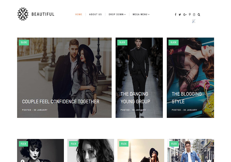 Beautiful Blogger Template is an fast loading responsive beauty theme with elegant and attractive clean and clear coded design