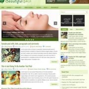 BeautifulSkin Blogger Templates