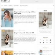 Beautly Blogger Templates