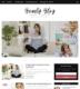 Beauty Blog Blogger Templates