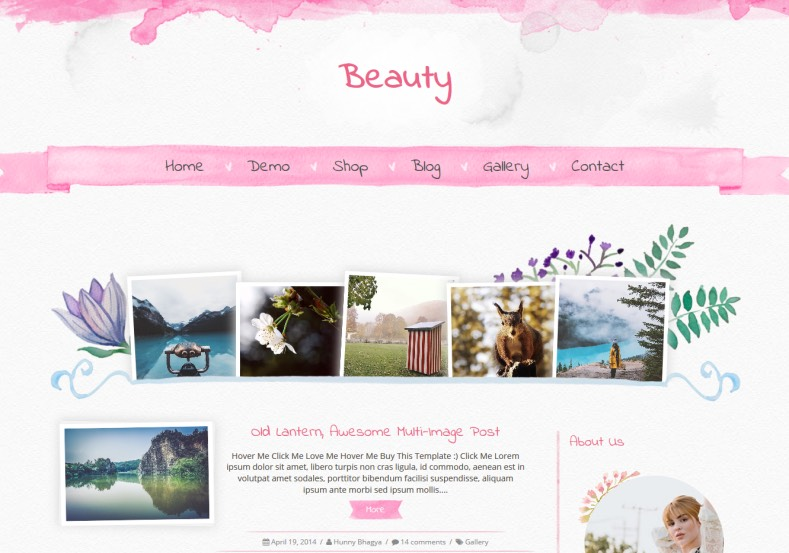 5897-lady-beauty free powerpoint templates.