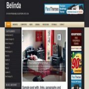 Belinda Blogger Templates