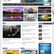 Best Mag Blogger Templates