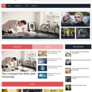Best Magazine Responsive Blogger Templates