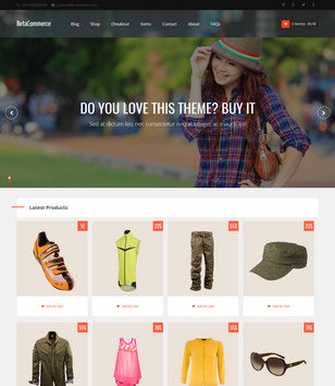 BetaCommerce Blogger Templates